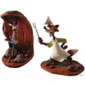 """ディズニーフィギュア WDCC うさぎどん きつねどん """"Song of the South Brer Fox Brer Rabbit"""" #4015615"""