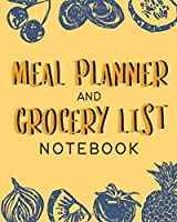 Meal Planner and Grocery List Notebook: Track and Plan Your Breakfast, Lunch, and Dinner Daily - Weekly Shopping List Checklist Included - Orange Cover Design (Daily Meal Planners)