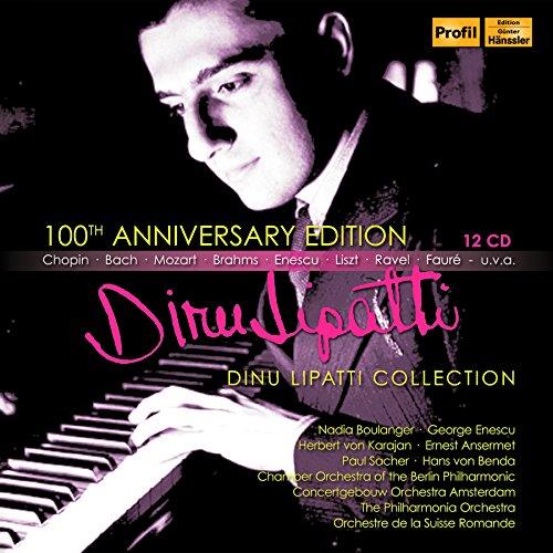 生誕100年記念BOX ~ リパッティ・コレクション (100th Anniversary Edition ~ Dinu Lipatti Collection) [12CD Box] [輸入盤] [日本語帯・解説・歌詞対訳付]