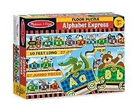 Melissa & Doug Alphabet Express Jumbo Jigsaw Floor Puzzle (27 pcs, 10 feet long) [並行輸入品]