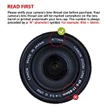 49mm レンズフィルター MC UV フィルター-ウルトラスリム16層多層加工 紫外線保護 99%透過率 Canon Nikon Sony対応 画像