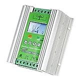 Anself LCD風力ソーラーハイブリッド充電コントローラ MPPTブーストチャージ 12/24V 自動照明街路灯 充電コントローラー 400Wソーラー+600W风力