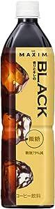 AGF マキシム ボトルコーヒー 香りとキレの ブラック 微糖 900ml×12本