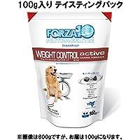 フォルツァ10 ドッグフード ウェイトコントロールアクティブ テイスティングパック 100g