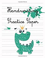 Handwriting Practice Paper: Writing Paper for kids with Dotted Lined 150 pages 8.5x11 Handwriting Paper