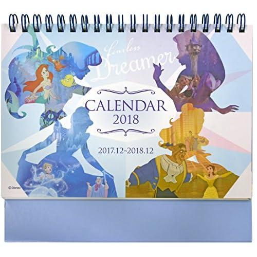 デルフィーノ 2018年 卓上カレンダー ディズニー プリンセス DZ-78739