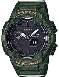[カシオ] 腕時計 ベビージー BGA-230S-3AJF レディース グリーン
