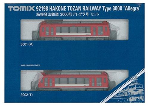 TOMIX Nゲージ 箱根登山鉄道 3000形 アレグラ号セット 92198 鉄道模型 電車...