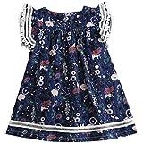 女の子の子供のワンピースドレスミニドレストップスレースの花柄チュチュスカートキッズ服子供服かわいい秋/冬春のパーティードレス