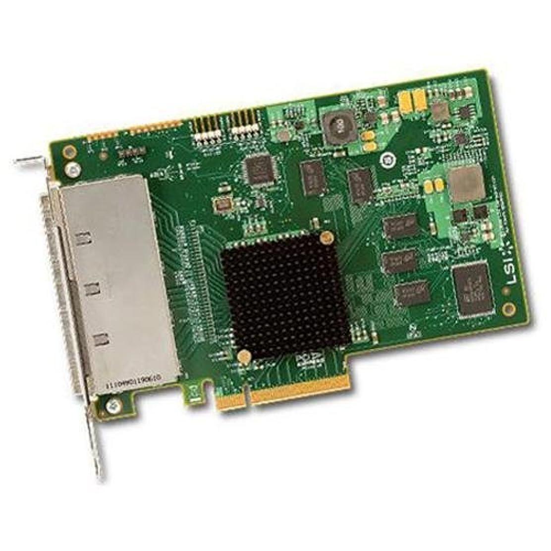 キリストストレスナチュラルLSIロジック LSI00276 / PCIEx8(2.0) SATA/SAS6Gb/s 外部16ポートHBA LSI SAS 9201-16e SGL