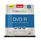Maxell 638014 DVD-R 4.7gb Write-Once 16x Recordabl [オンデマンド(CD-R)]