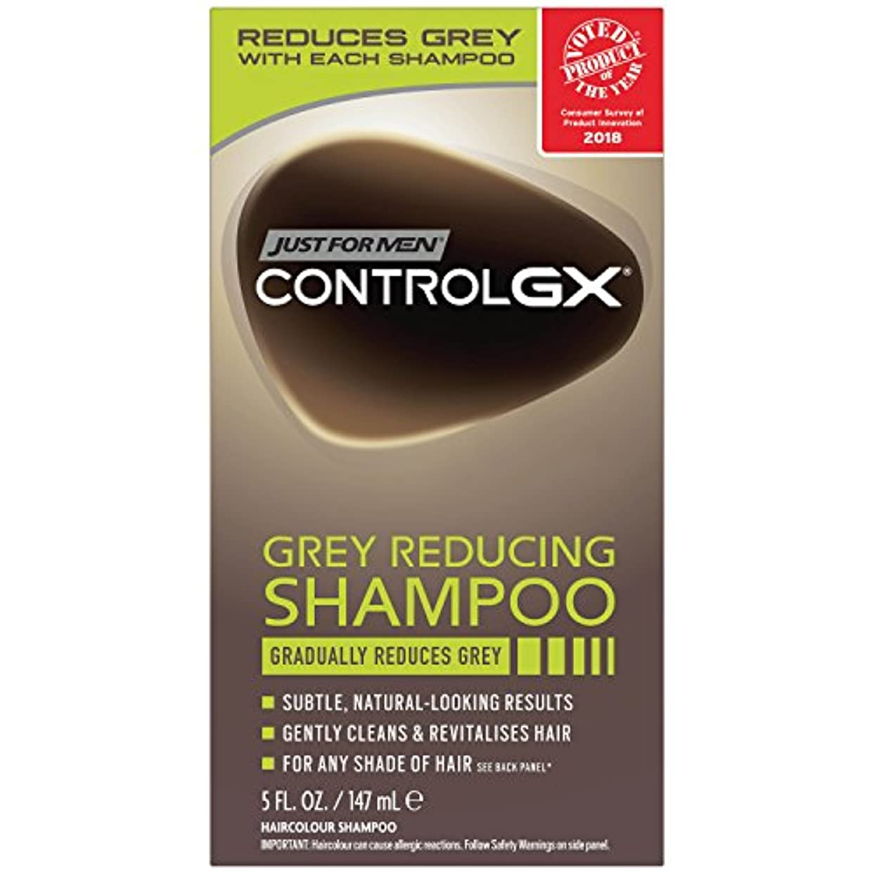 年宿判定(Grey Reducing Shampoo) - Just For Men Control GX Grey Reducing Shampoo, 5 Fluid Ounce