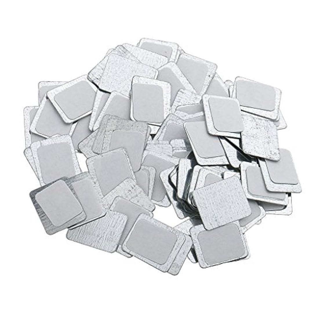 完璧行き当たりばったり代表するKesoto 約100個 メイクアップパン 空パン アイシャドー ブラッシュ メイクアップ 磁気パレットボックスケース 2タイプ選べ - スクエア