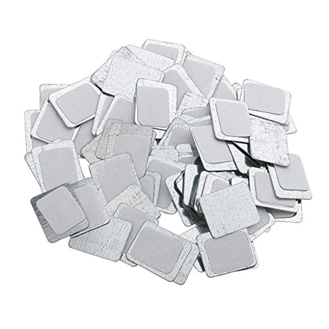 未満保守的科学者Kesoto 約100個 メイクアップパン 空パン アイシャドー ブラッシュ メイクアップ 磁気パレットボックスケース 2タイプ選べ - スクエア