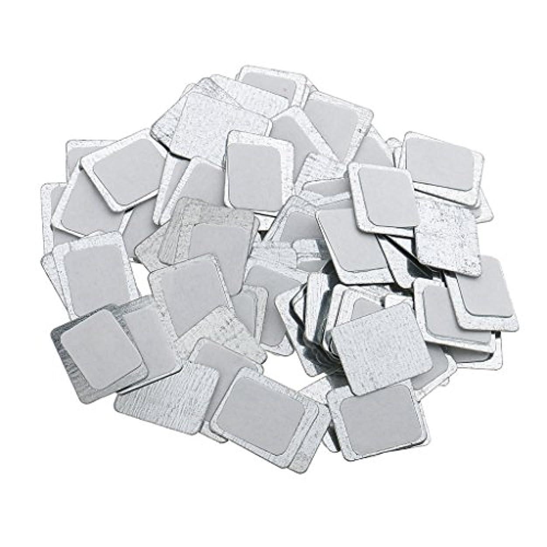 支配するハドルリサイクルするKesoto 約100個 メイクアップパン 空パン アイシャドー ブラッシュ メイクアップ 磁気パレットボックスケース 2タイプ選べ - スクエア