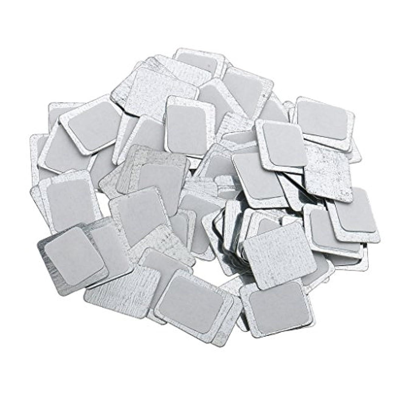 エンティティスロベニアドラッグ約100個 メイクアップパン 空パン アイシャドー ブラッシュ メイクアップ 磁気パレットボックスケース 2タイプ選べ - スクエア