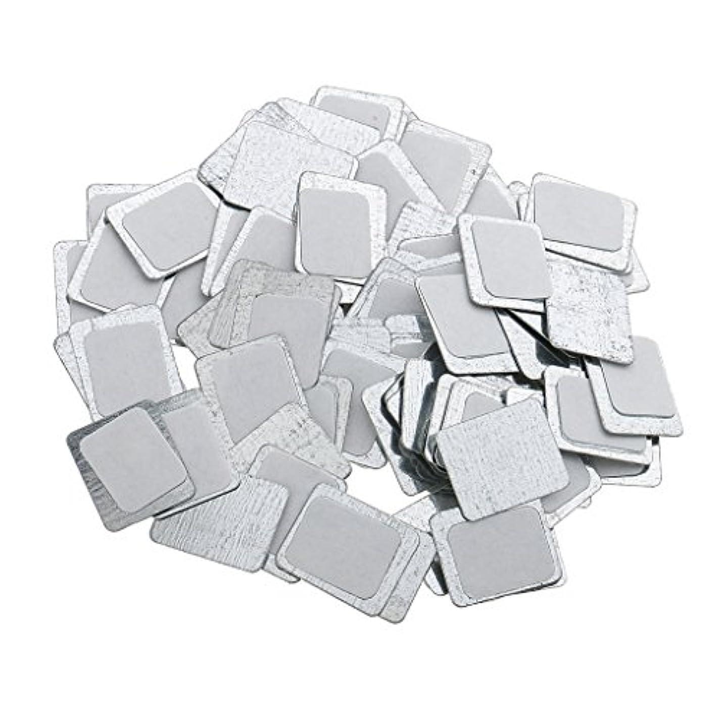 公爵バーベキュー増加する約100個 メイクアップパン 空パン アイシャドー ブラッシュ メイクアップ 磁気パレットボックスケース 2タイプ選べ - スクエア