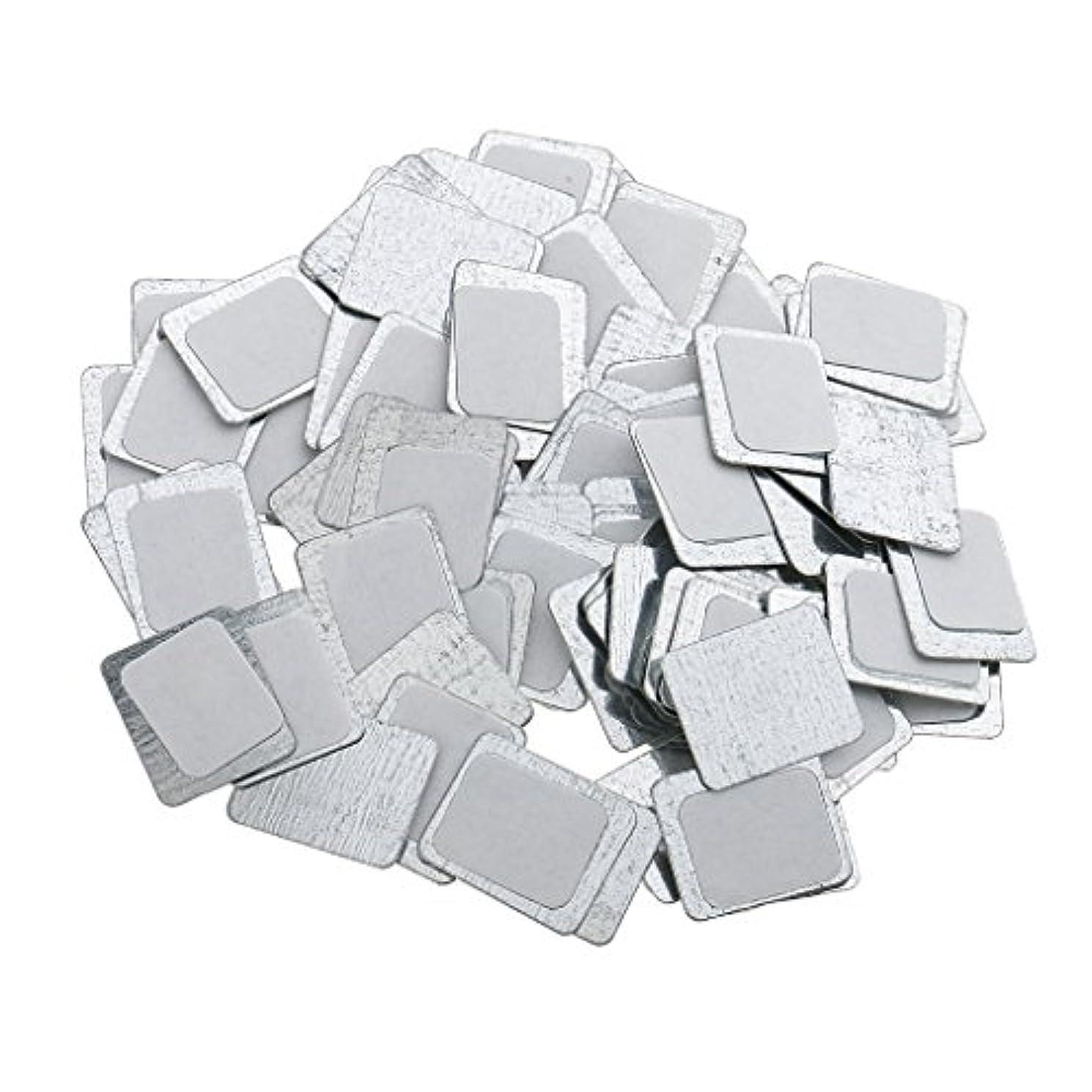巨大な渇きジョリー約100個 メイクアップパン 空パン アイシャドー ブラッシュ メイクアップ 磁気パレットボックスケース 2タイプ選べ - スクエア