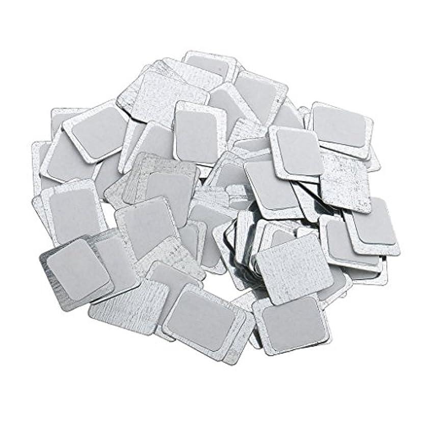 恥ずかしさおじいちゃん無数のKesoto 約100個 メイクアップパン 空パン アイシャドー ブラッシュ メイクアップ 磁気パレットボックスケース 2タイプ選べ - スクエア