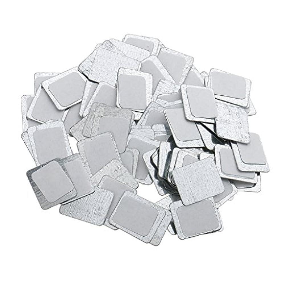 父方のシリアル祭司約100個 メイクアップパン 空パン アイシャドー ブラッシュ メイクアップ 磁気パレットボックスケース 2タイプ選べ - スクエア