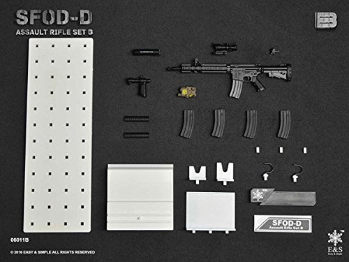 1/6 SFOD-Dアサルトライフル セットB (ES-06011B)