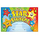 トレンド 賞状カード 優秀で賞 30枚入り Trend Recognition Awards I'm a Star Student T-81019