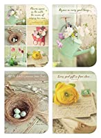 Legacy Publishing Group Flowers Appear Blank Note Card Set 3.5 x 5 (DAN46010) [並行輸入品]