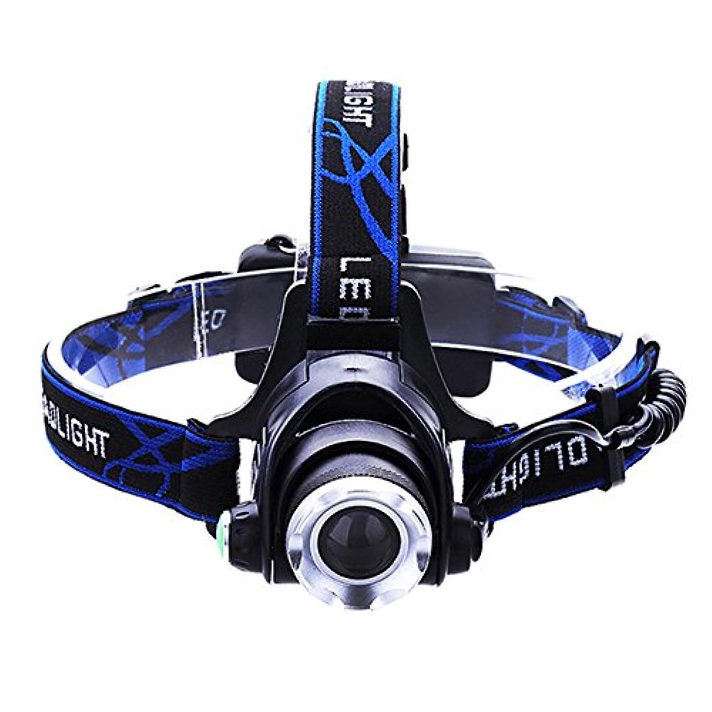 ぞっとするような懸念強化するLEDライト調節可能なヘッドライト充電式誘導ヘッドマウント懐中電灯超明るい夜の釣り釣りランプ