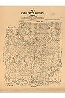 マップのパロピント;アンティークマップ、1879 24X36 inches HPR_559_24X36