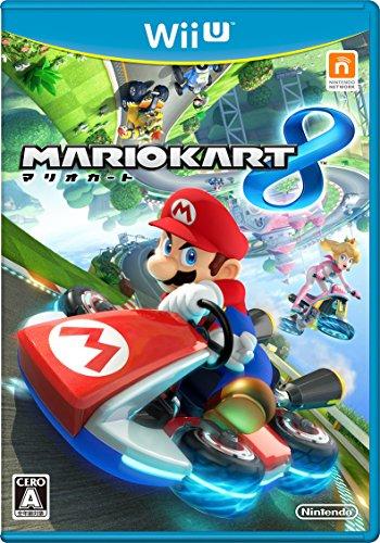 マリオカート8 【Amazon.co.jp限定】特典:任天堂製オリジナルトランプ(マリオVer.) 付 - Wii U