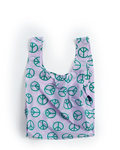 (One Size, Peace Sign) - BAGGU Standard Reusable S...