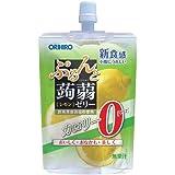 オリヒロ ぷるんと蒟蒻ゼリー カロリーゼロ レモン 130g×8個