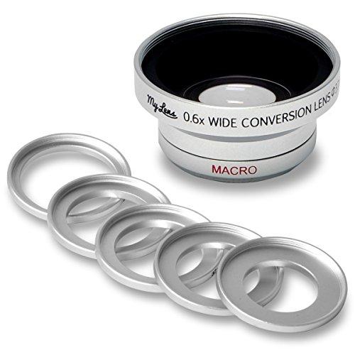 【Full HD 対応】ビデオカメラ用 広角 0.6倍 ワイドコンバージョンレンズ「My Lens(マイ・レンズ)シリーズ」【レンズ径 25mm、27mm、28mm、30mm、30.5mm、37mm 対応】