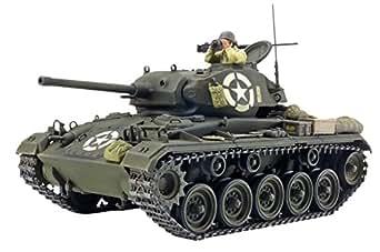 タミヤ ・イタレリシリーズ No.20 1/35 アメリカ軽戦車 M24 チャーフィー 37020