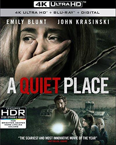 クワイエット・プレイス [4K UHD + Blu-ray ※日本語無し](輸入版) - A Quiet Place 4K UHD -