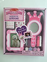 Melissa & Doug Decorate Your Own Wooden Mirror & Frame [並行輸入品]