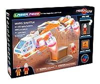 Laser Pegs Building Blocks ( 280ピース)、Marsシャトル、最初の照明付きConstruction Toy to Ignite Your子の創造性、LEDライトアップConstructionブロック、と互換性の主要レンガBuildingセット