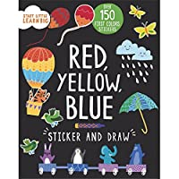 Start Little Learn Big Red, Yellow, Blue Sticker and Draw