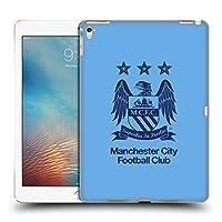 オフィシャルManchester City Man City FC 黒曜石&スカイブルー クレスト iPad Pro 9.7 (2016) 専用ハードバックケース