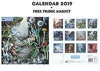 フェアリーランドオフィシャルカレンダー2019 + Blank Fridge Magnet