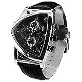 [コグ]COGU メンズ 腕時計 アシンメトリー クロノグラフ CG-C43 BK [並行輸入品]