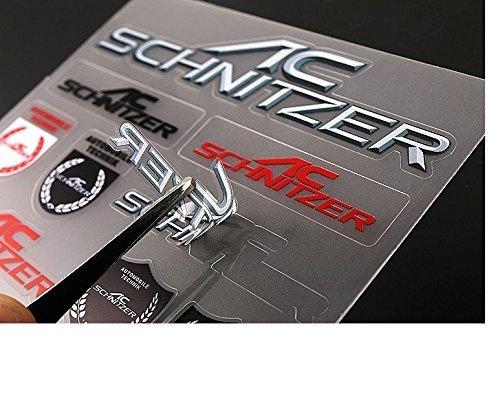 AC SCHNITZER(AC シュニッツァー) ミニステッカー シュニッツァーをさりげなく彩る!デカール シール ステッカー