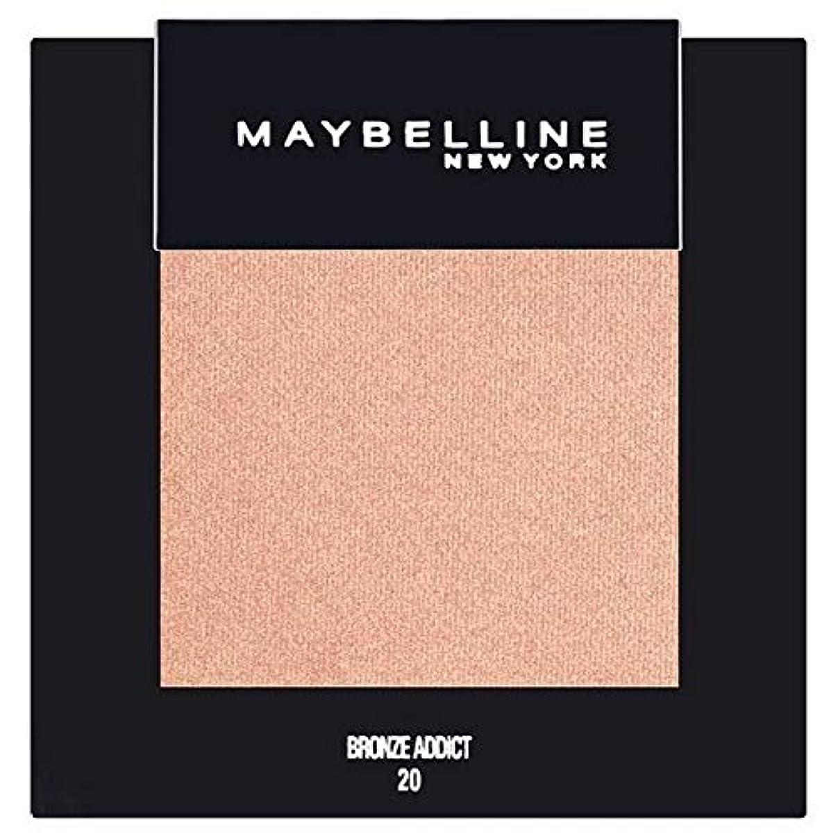 大使館下る靄[Maybelline ] メイベリンカラーショーシングルアイシャドウ20ブロンズ - Maybelline Color Show Single Eyeshadow 20 Bronze [並行輸入品]