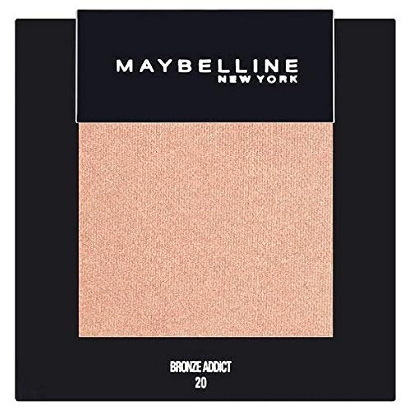 歯車絶滅したモック[Maybelline ] メイベリンカラーショーシングルアイシャドウ20ブロンズ - Maybelline Color Show Single Eyeshadow 20 Bronze [並行輸入品]