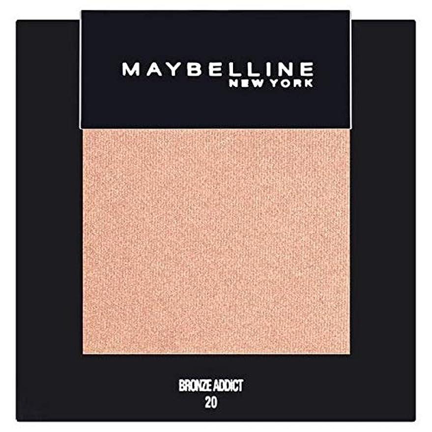 模索強大な帝国[Maybelline ] メイベリンカラーショーシングルアイシャドウ20ブロンズ - Maybelline Color Show Single Eyeshadow 20 Bronze [並行輸入品]