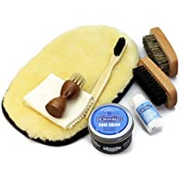 [銀座大賀靴工房] [エムモゥブレィ] M.MOWBRAY x オリジナル シューケア スターターセット(靴磨きセット)