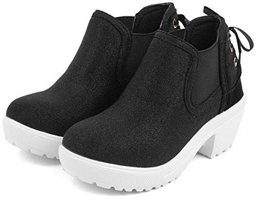 (サムシング エドウィン) SOMETHING EDWIN 子供靴 サイドゴア ブーツ キッズ 女の...