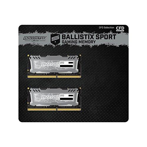 CFD販売 ノートPC用メモリ PC4-19200(DDR4-2400) 16GBx2枚 260pin (無期限保証)(Ballistix by Micron) W4N2400BMS-16G