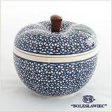 [Zaklady Ceramiczne Boleslawiec/ザクワディ ボレスワヴィエツ陶器]リンゴのポット12.5cm-120 ポーリッシュポタリー