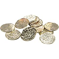 Bristol Novelty Pirate Gold Coins Costume Accessories - Boy's - 12 Coins